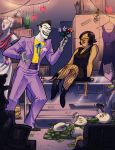 The Joker and Mrs. Explosion by Crispy-Gypsy