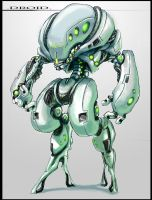 Droid by mobius-9