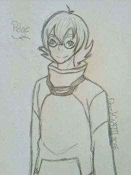 Pidge by GhostGirlVII