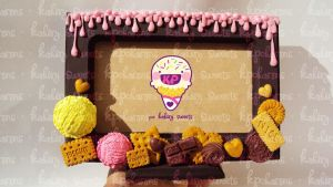 sweet deco frame 1 by KPcharms