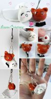 Fruits Basket charm - wedding Tohru and Kyo by rea-drawingzone