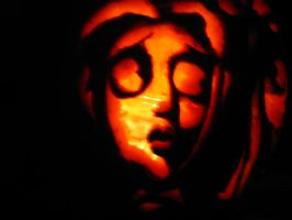 The Corpse Bride Pumpkin V+C4 by SquirtBox