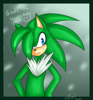 G: Gade the Hedgehog by ApallonShinomia