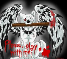 ..:play with me:.. by Meri-theDog