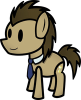 Paper Dr. Hooves by FinePrint-MLP