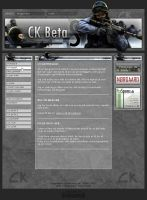 CK Beta - Webdesign by Noergaard