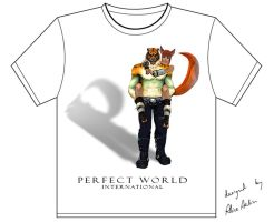Perfect World T-shirt by AliceAelin