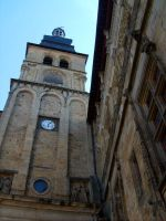 Sarlat's Clock Tower by Icecradle