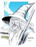 LOTR: GANDALF THE GREY by Jerome-K-Moore
