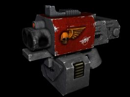 Storm bolter 3D max render by DarkLostSoul86
