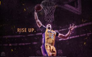 Dwight Howard 'Rise Up' Wallpaper by lisong24kobe
