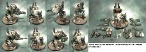 Astra Militarum Scout Sentinel by Elmo9141