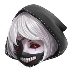 Tokyo Ghoul style by ZerutoX3