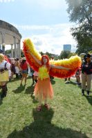 2014 Cosplay Picnic On the Common, Colorful Wings by Miss-Tbones