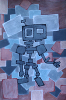 Stonebot by interstice-artisan
