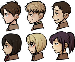 Snk headshots by Jejunity