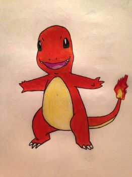 Charmander by TheOstrichKing