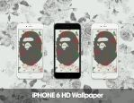 A Bathing Ape iPhone 6 HD Wallpaper by GFXKinect