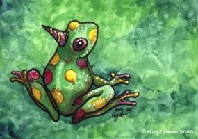 Party Frog by MegLyman
