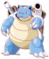 009 Blastoise by SarahRichford