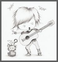 Rock and Roll, baby by OliviasArtwork