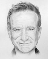 Robin Williams by akalinz