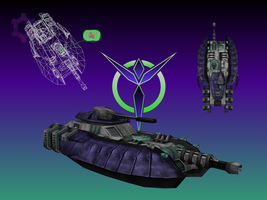 PlanetSide Magrider by haywire7