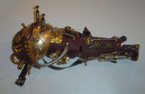 Steampunk Pirate Arm by AmethystArmor