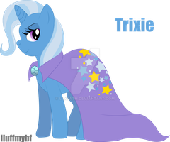 The great and powerful Trixie by Lizziath