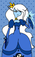 The Ice Queen by 5p4Zim