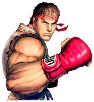 Street Fighter X Fatal Fury~Ryu Bio and quotes by JohnnyOTGS