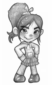 Vanellope by Tommassey250