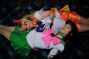ACEN2010 Sailor Venus+Jupiter by tfcreate