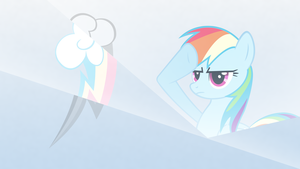 Rainbows salute wallpaper by rhubarb-leaf