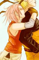 NaruSaku: Guess Who by MuseSilver