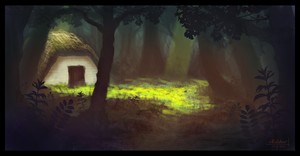 Cabin In The Woods by famalchow