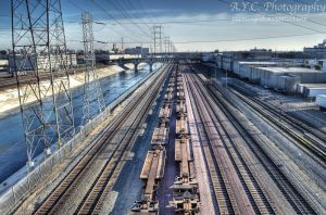 Train Tracks by pacmangeek