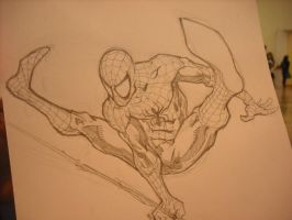 spiderman con sketch by Fpeniche
