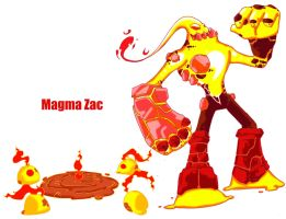 Magma Zac by emiliano-roku
