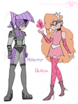 FOP: Illussya and Misscenter by KPenDragon
