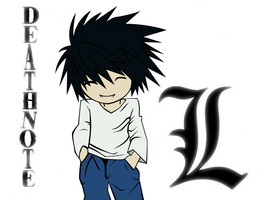 Lawliet - L by Dahgnear