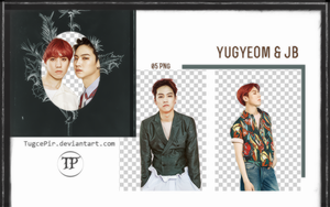 GOT7 Yugyeom-JB PNG Pack by TugcePir