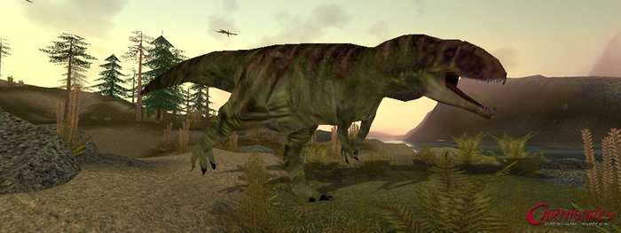 Carnivores 2 Cannon-style Giganototaurus by The---Other---One
