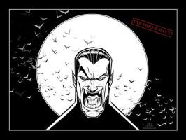 Inktober-#02-Dracula by Chadwick-J-Coleman