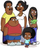 the cleveland show in colour by dansketch7
