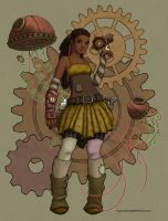 Steampunk Pirate by ingunnbf