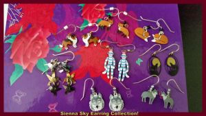 Sienna Sky Earring Collection! by Vesperwolfy87
