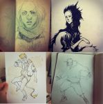 instagram sketches by Harkill