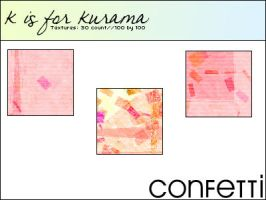 kisforkurama: Confetti by CBGraphicsResources