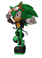Scourge The Hedgehog by DoodleyStudios